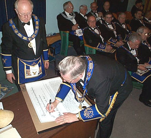 Constitution and Consecration of Lodge